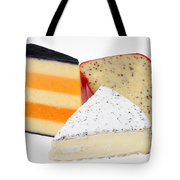 Three Cheese Wedges Tote Bag