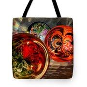Three Colored Balls Tote Bag