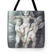Three Cupids Tote Bag