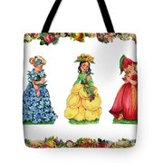 Three Cuties Tote Bag