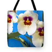 Three Exotic Orchids Tote Bag