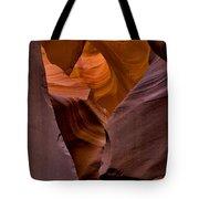 Three Faces In Sandstone Tote Bag