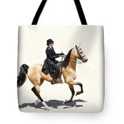 Three Gaited Buckskin Tote Bag