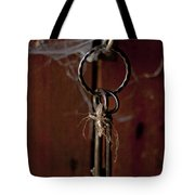 Three Keys Tote Bag by Georgia Fowler