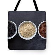Three Kinds Of Rice Tote Bag