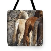 Three Long Tails Tote Bag