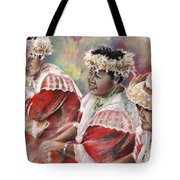 Three Mamas From Tahiti Tote Bag