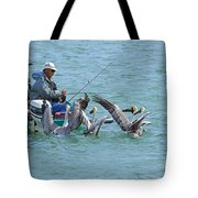 Three Men In A Boat Tote Bag