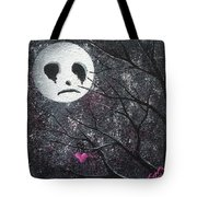Three Moons Series - Man In The Moon Tote Bag