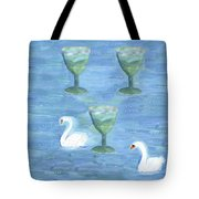 Three Of Cups Tote Bag