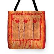 Three Of Wands Tote Bag
