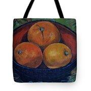 Three Oranges Tote Bag
