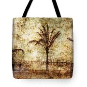 Three Palms 6 Tote Bag