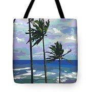 Three Palms Tote Bag