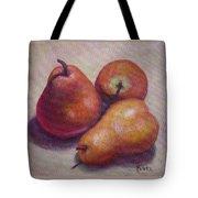 Three Pears #2 Tote Bag