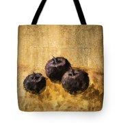 Three Plums Still Life Tote Bag