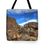 Three Rivers Petroglyphs 2 Tote Bag
