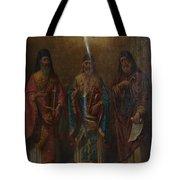 Three Saints Tote Bag