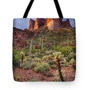 Three Sisters Sunset  Tote Bag