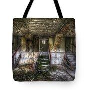 Three Stairs To Nowhere Tote Bag