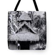 Three Story Hut Tote Bag