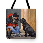 Three Strays Tote Bag
