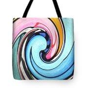 Three Swirls Tote Bag by Helena Tiainen