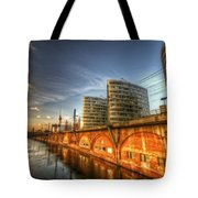 Three Towers Berlin Tote Bag by Nathan Wright