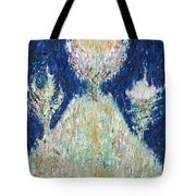 Three Trees On The Hilltop Tote Bag