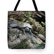 Three Turtles Tote Bag