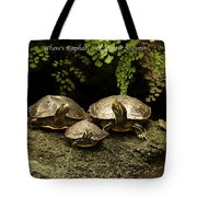 Three Turtles Tote Bag