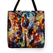 Three Umbrellas Tote Bag