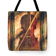 Three Violins Tote Bag
