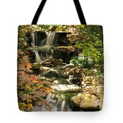 Three Water Falls Tote Bag