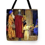 Three Wise Men Bearing Gifts Tote Bag