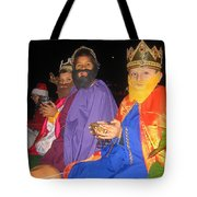 Three Wise Men On Float Christmas Parade Eloy Arizona 2005 Tote Bag