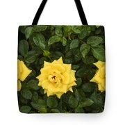 Three Yellow Roses Tote Bag