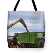 Threshing The Barley Tote Bag