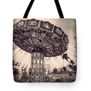 Thrill Rides Tote Bag