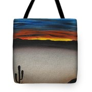 Thriving In The Desert Tote Bag