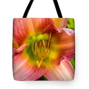 Throat Of Lily Tote Bag