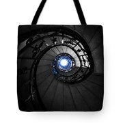 Through Darkness To Light... Tote Bag