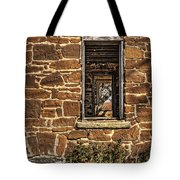Through Doors And Windows - Abandoned House Tote Bag