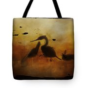 Through Painted Glass Tote Bag