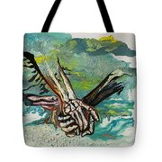 Through Storms Tote Bag