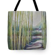 Through The Bamboo Grove Tote Bag