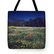 Through The Blooming Fields Tote Bag