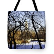 Through The Branches 3 - Central Park - Nyc Tote Bag