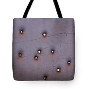 Through The Bullet Holes Tote Bag