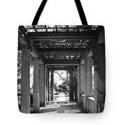 Through The Columns Tote Bag
